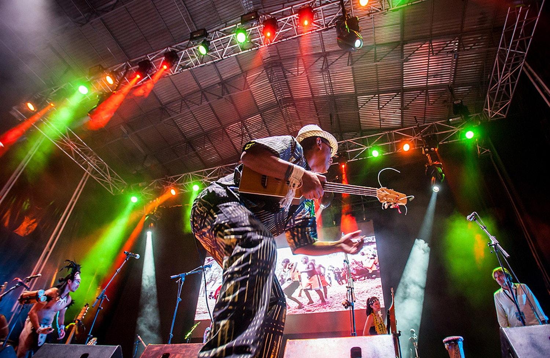マダガスカル出身のサニー・サモエラ 「Etnosur Festival2018」_@スペイン